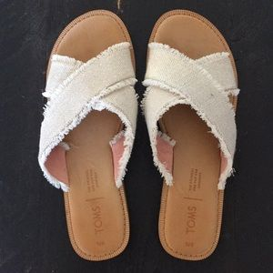 TOMS sandals sz.8